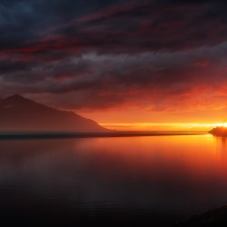Turnagain Arm Sunset