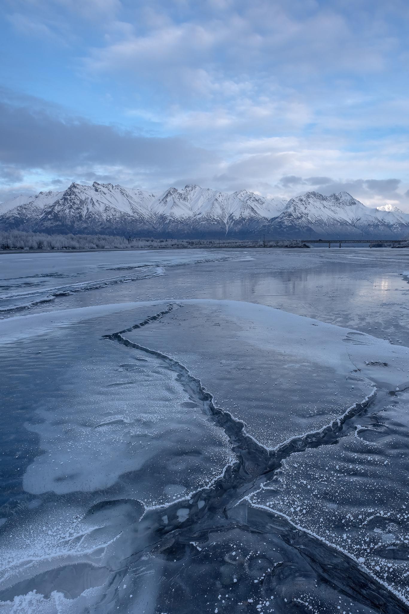 Knik River Alaska Ice