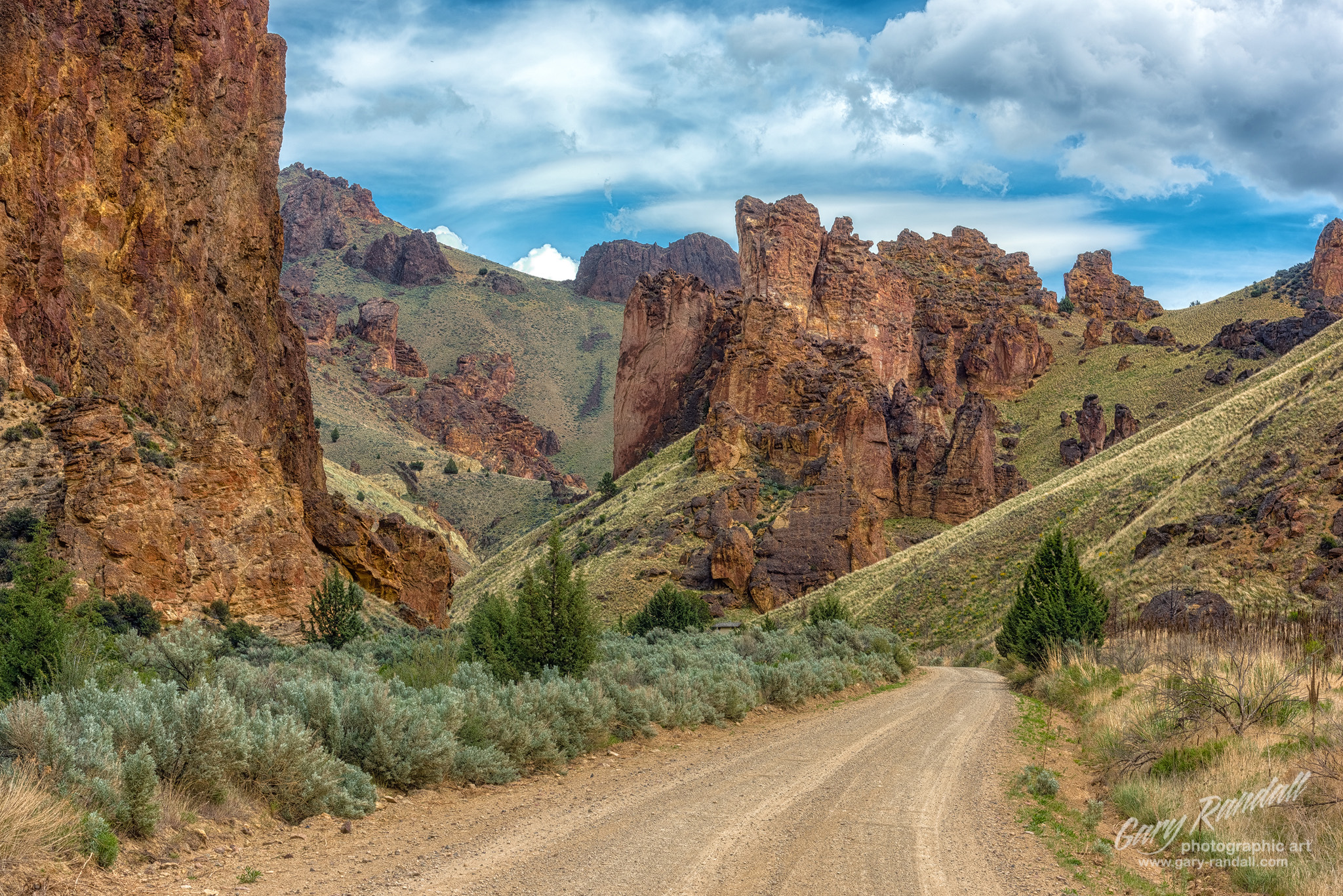 Leslie Gulch in Eastern Oregon