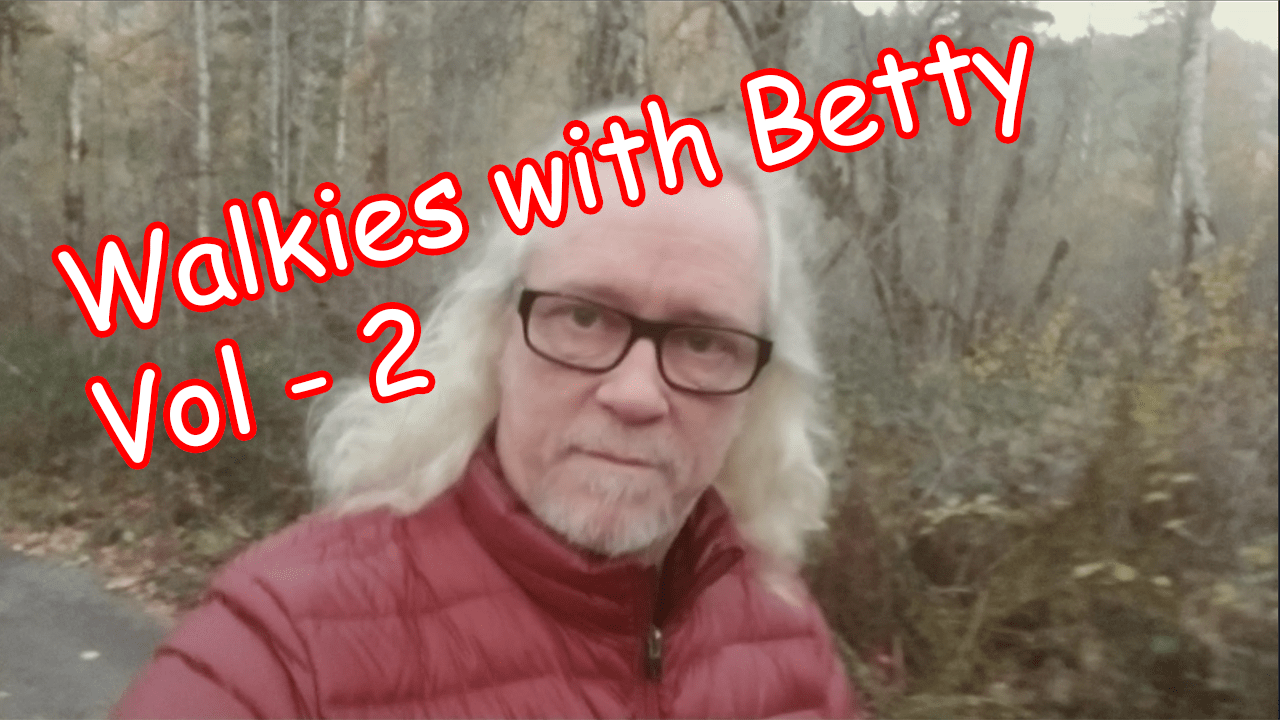 Walkies with Betty – Volume 2 – Moon Crater Blvd Stroll