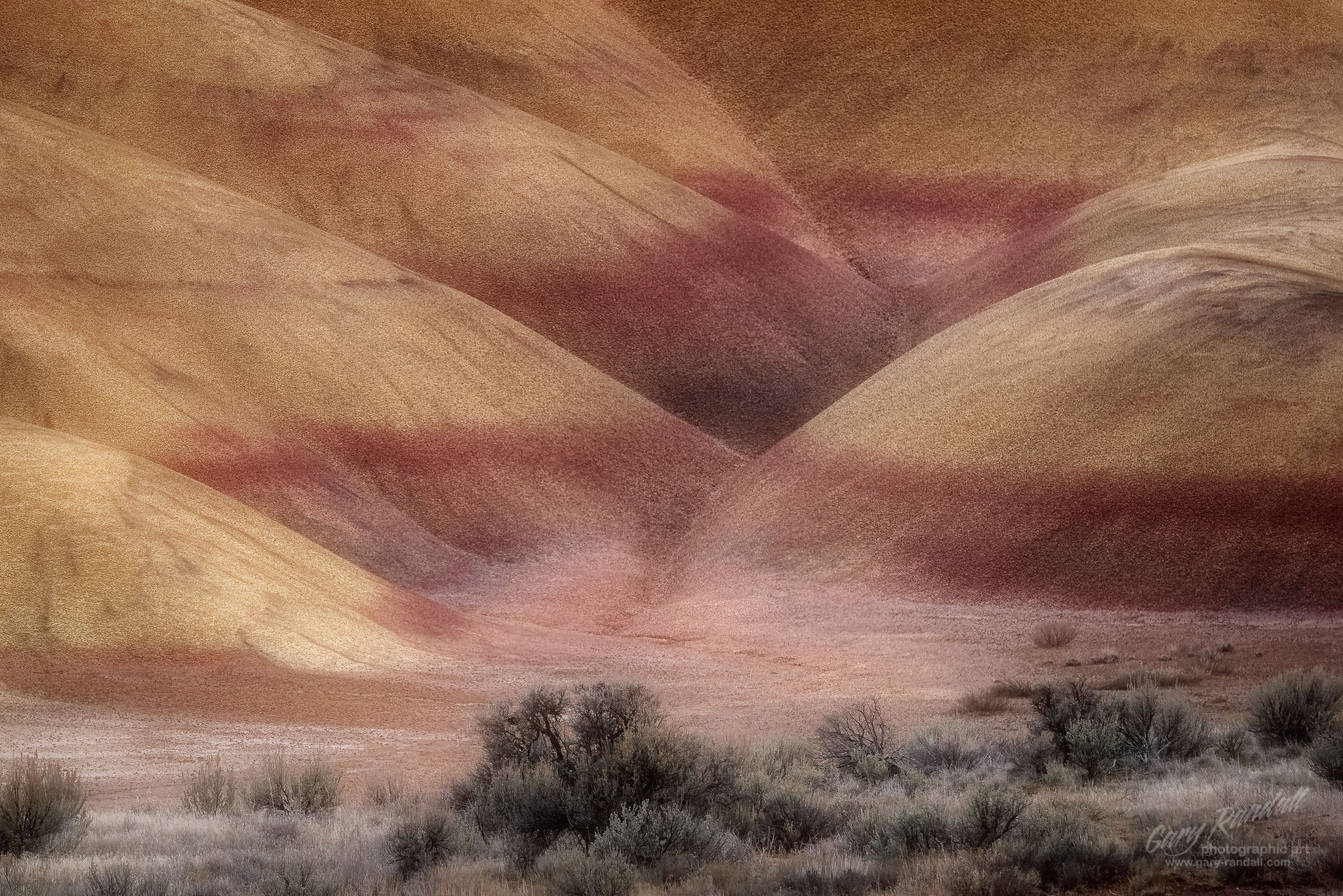 Critique and Competition in Photography – The Painted Hills in Central Oregon.