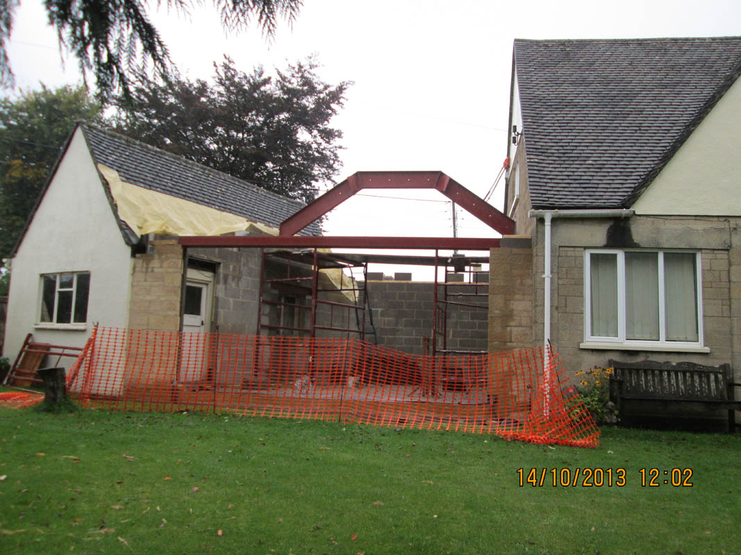Building Services  Extension  Recently Completed