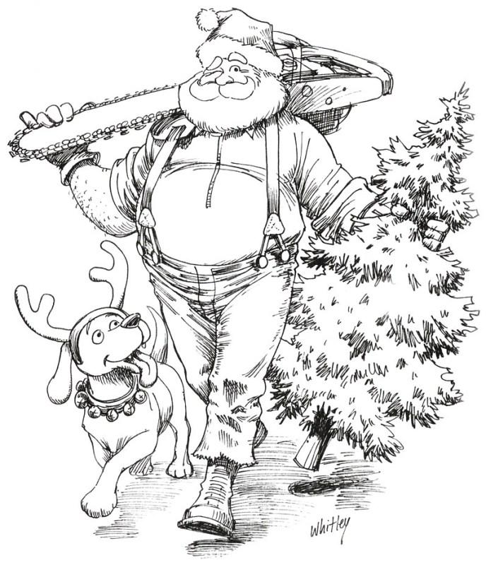 Logger Christmas