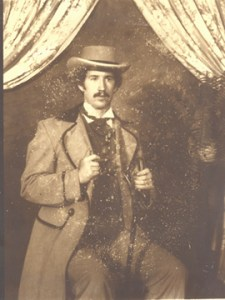 Gary Whitley shortly after the Civil War.
