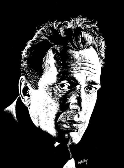 Portrait of Humphrey Bogart