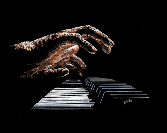 Mr. Pianohands.