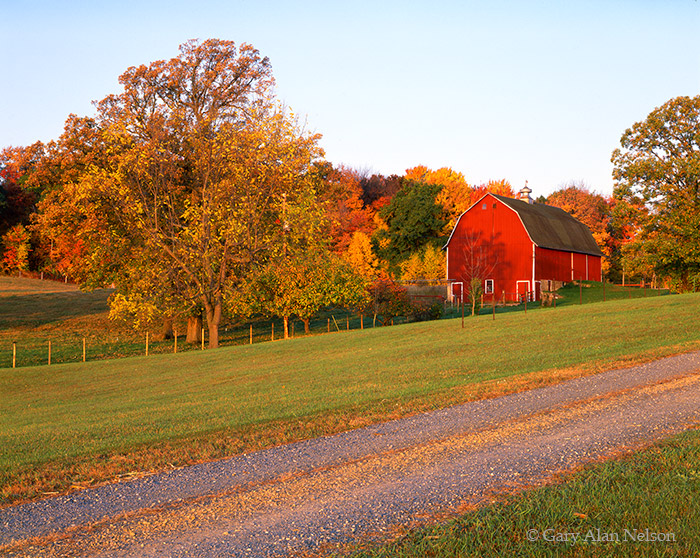 Fall Mountain Scenes Wallpaper Barn In Autumn St Croix River Valley Minnesota Gary