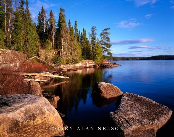 Russell Lake Quetico Provincial Park Ontario Canada