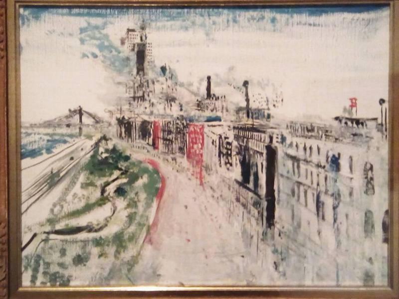 Riverside Drive, Wilhelm Thöny, Austrian Artist. Graz 1888- 1949