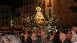 Mary arrives
