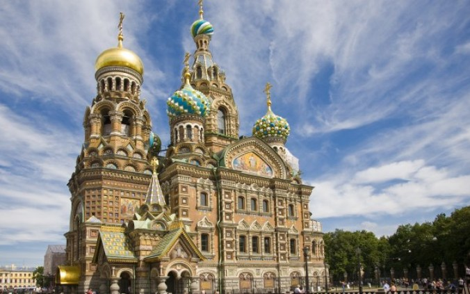 Church of the Savior on Blood, St Petersburg Russia