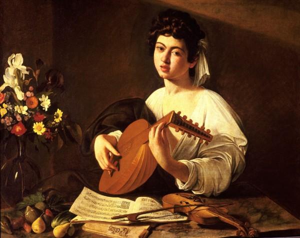 Lute Player, Caravaggio