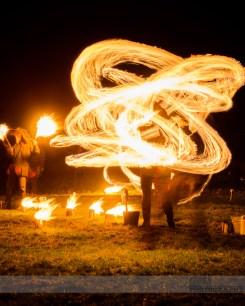 Imbolc Festival 2014 - Fire swinging