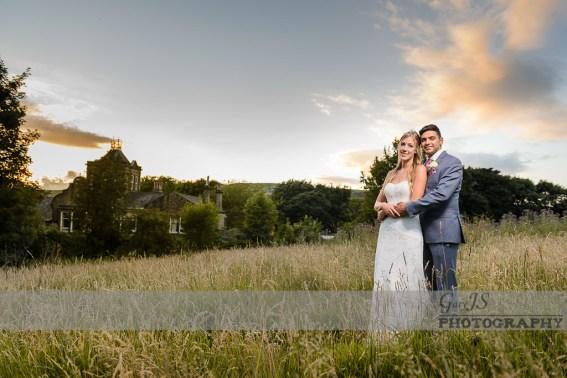 Crow Hill, Marsden, Wedding portrait