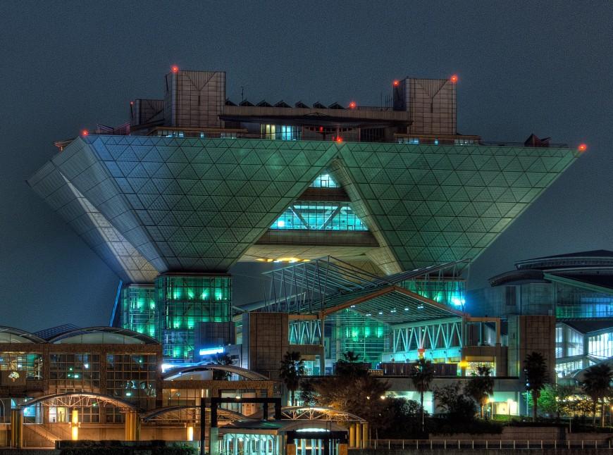 This Weeks Crazy Building Tokyo Big Sight  Gary Kent