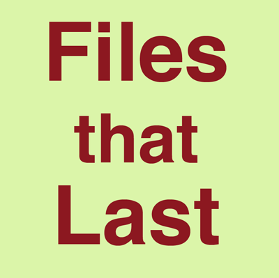 Files That Last logo