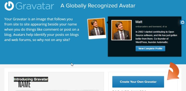 Create Your Own Gravatar