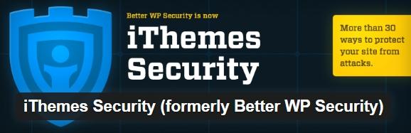 wordpress plugins ithemes security