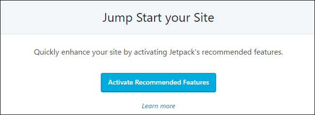 Jetpack Jump Start