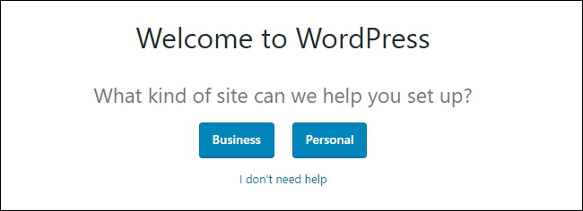Wordpress Wizard