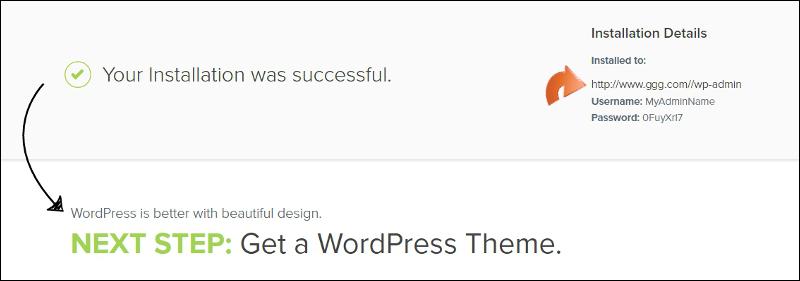 View WordPress Credentials