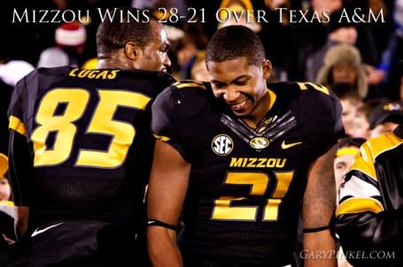 Mizzou Wins Over Texas A&M