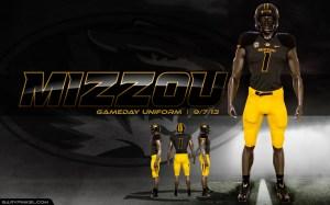 Mizzou-Tiger-Nike-Uniform-Gold-Pants-Anthracite-Jersey