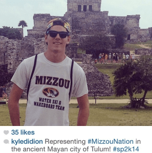 MizzouNation photo contest spring break best location