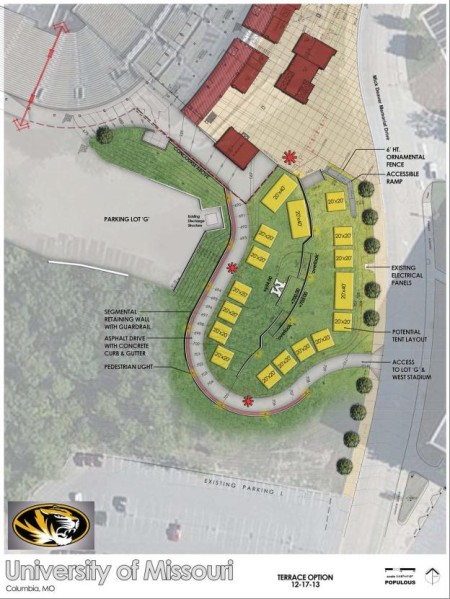 Terrace rendering at The Zou