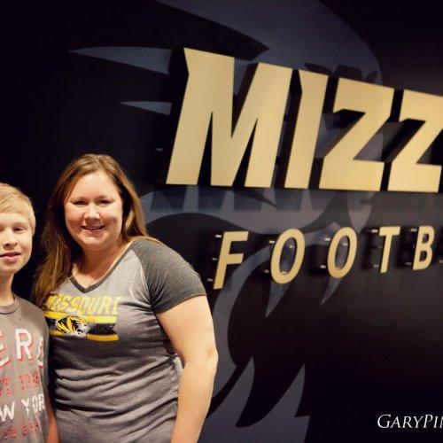 Jennifer Workes Season Tickets Mizzou Football