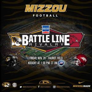 Battle Line Rivalry Mizzou Football 2014