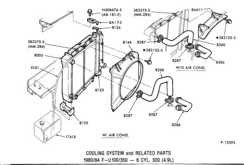 small resolution of ford 351 windsor cooling system diagram wiring diagram used cooling system illustrations gary s garagemahal the
