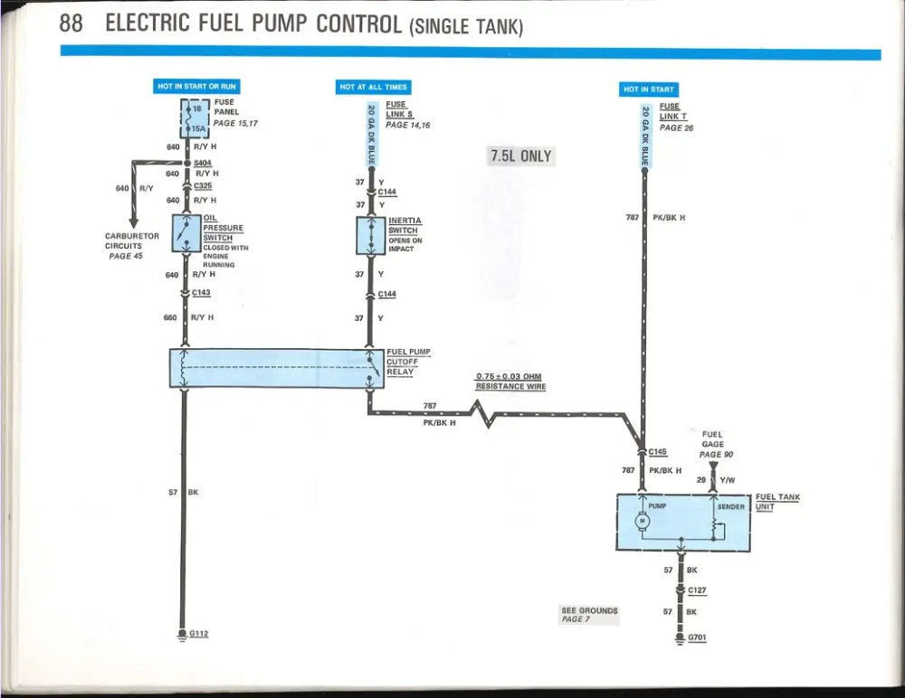medium resolution of ford 460 fuel diagram wiring diagram show ford 460 fuel system diagram