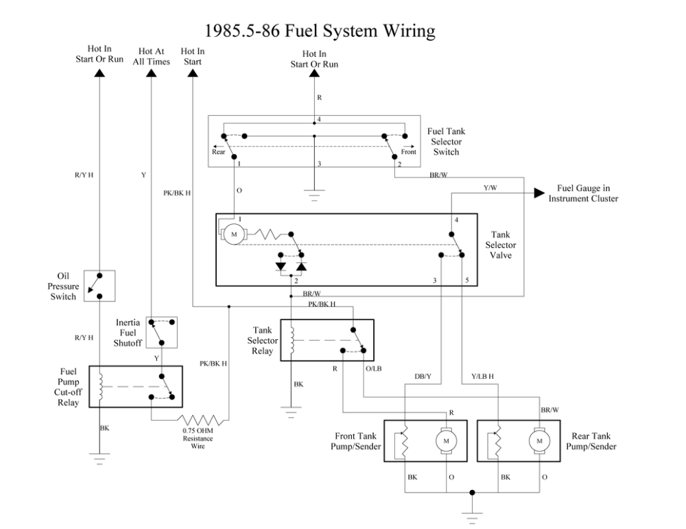 medium resolution of 1981 ford f350 fuel system diagram wiring diagram technic 1981 ford f350 fuel system diagram