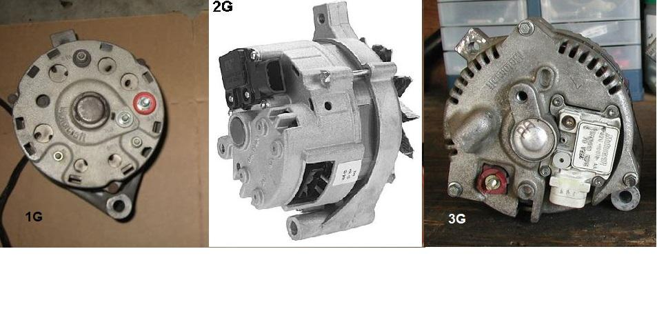 This Is The Wiring Diagram For The 1g Alternator Setup If You Have An