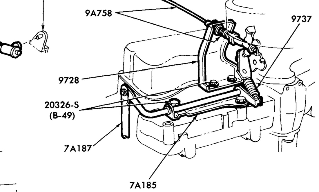 1983 Ford Ranger Carburetor Diagram
