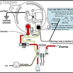 Alternator Wiring Diagram Internal Regulator Mobile Home 3g Conversion Gary S Garagemahal The Bullnose Bible Note That Yellow Wire From A Terminal Is Usually Connected To Bat And Not Routed Back Solenoid