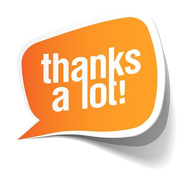 Image result for Thanks a lot