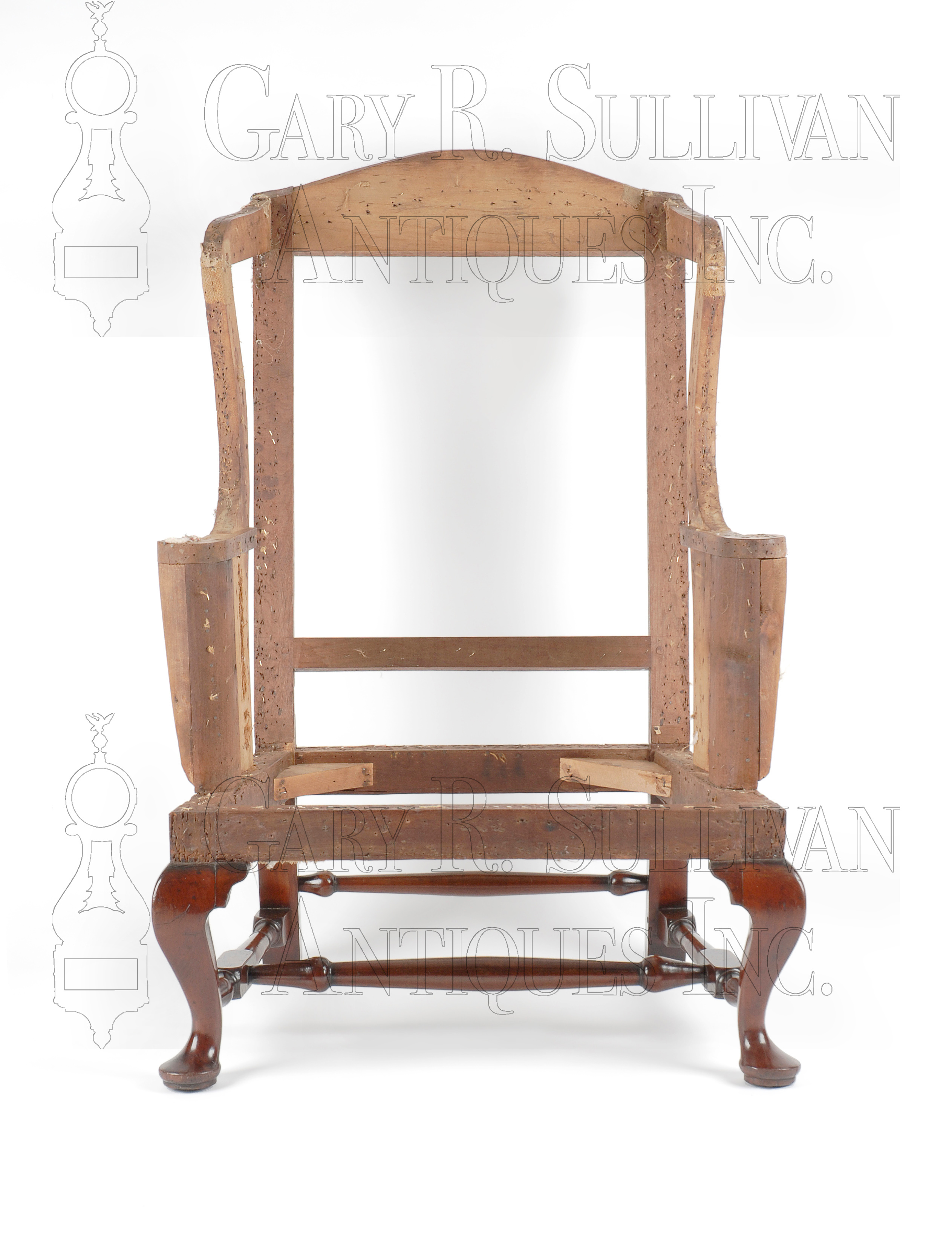 queen anne wing chair recliner replacement slings for winston patio chairs newport ri furniture 007054