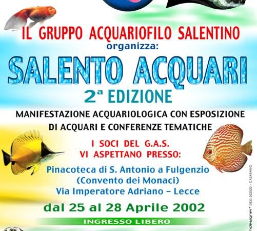 Reportage Salento Acquari 25-28 Aprile 2002