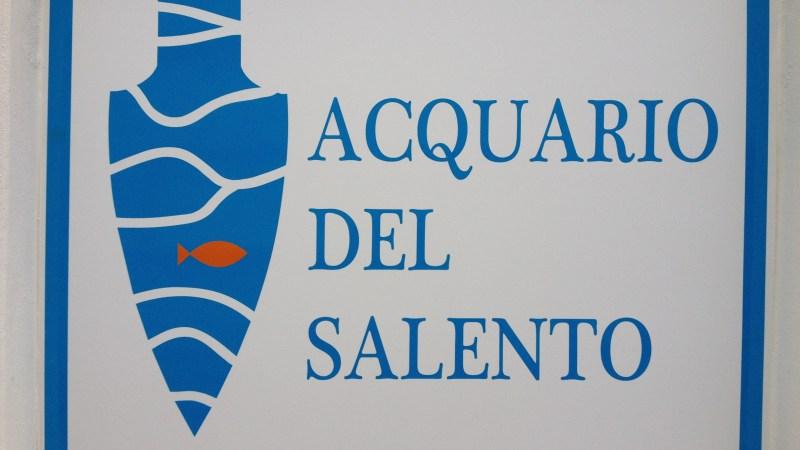 Presentazione pubblica dell'ACQUARIO DEL SALENTO