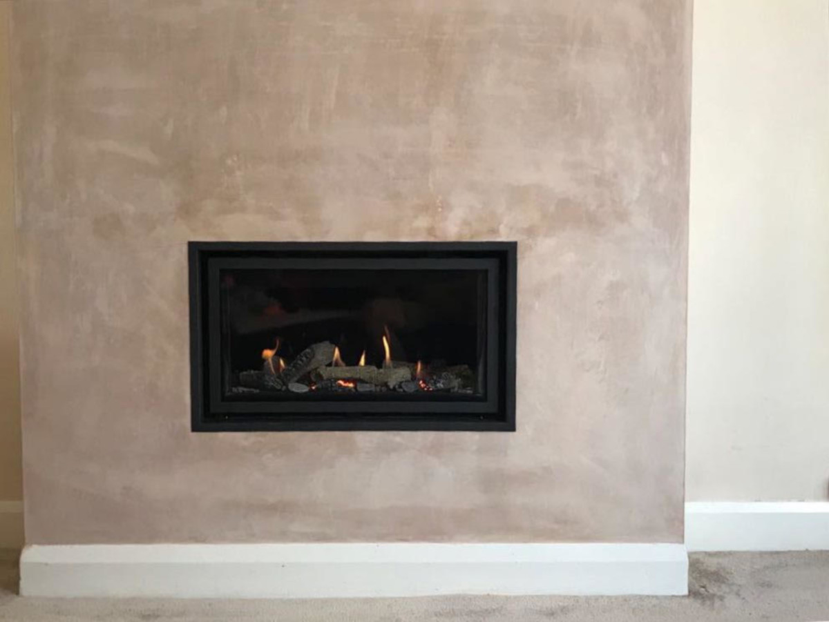 Studio 1 gas fire completed installation
