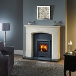 Aquila stove in Olvera surround