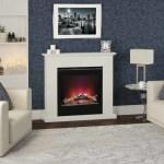 Vittoria electric fire suite