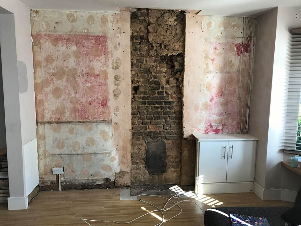 Part 2 ~ Removal Of The Chimney Breast