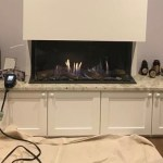 Annual service of an Element 4 gas fire