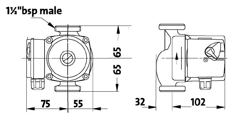 Grundfos Selectric circulating pump