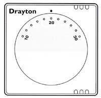 Drayton RTS Electronic Roomstats