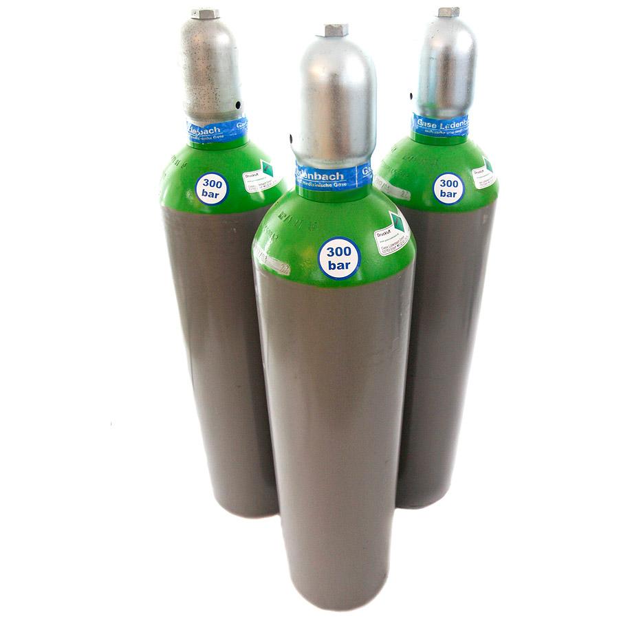 1 x Druckluftflasche 200300 bar mit 5 10 20 50 Ltr