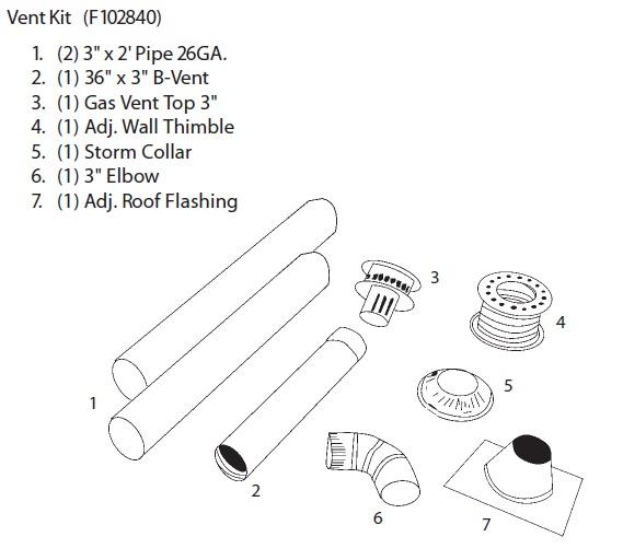 Heatstar By Enerco HST45 Series Gas Fired Tube Heater